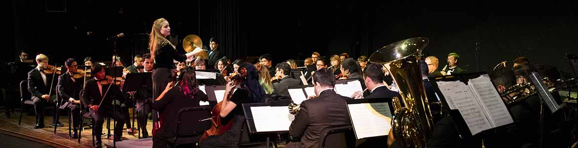 Photo of 2019 Chamber Orchestra students CSUSB