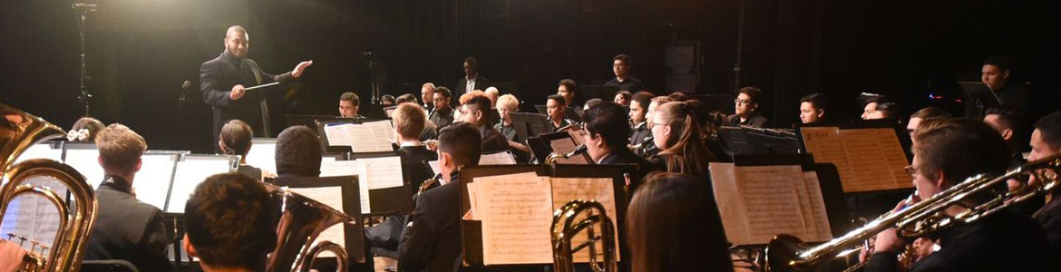 Photo of 2018 Symphonic Band students CSUSB