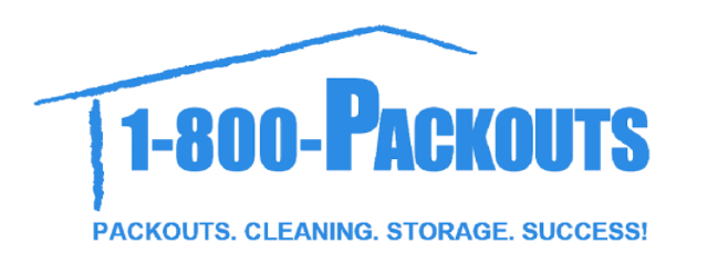 1-800 Packouts logo in blue