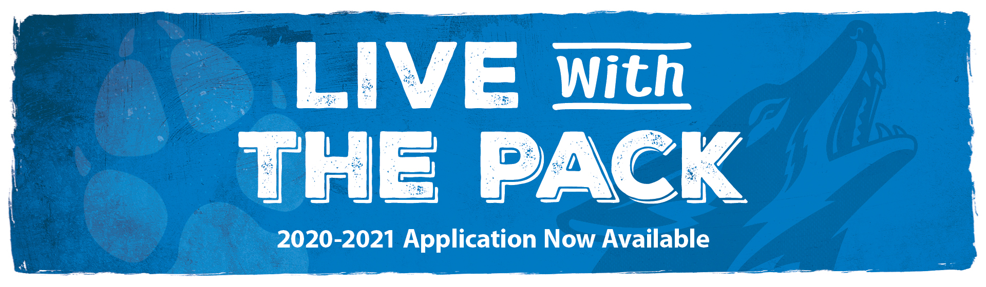 Live with the Pack 2020-2021 Application Now Available