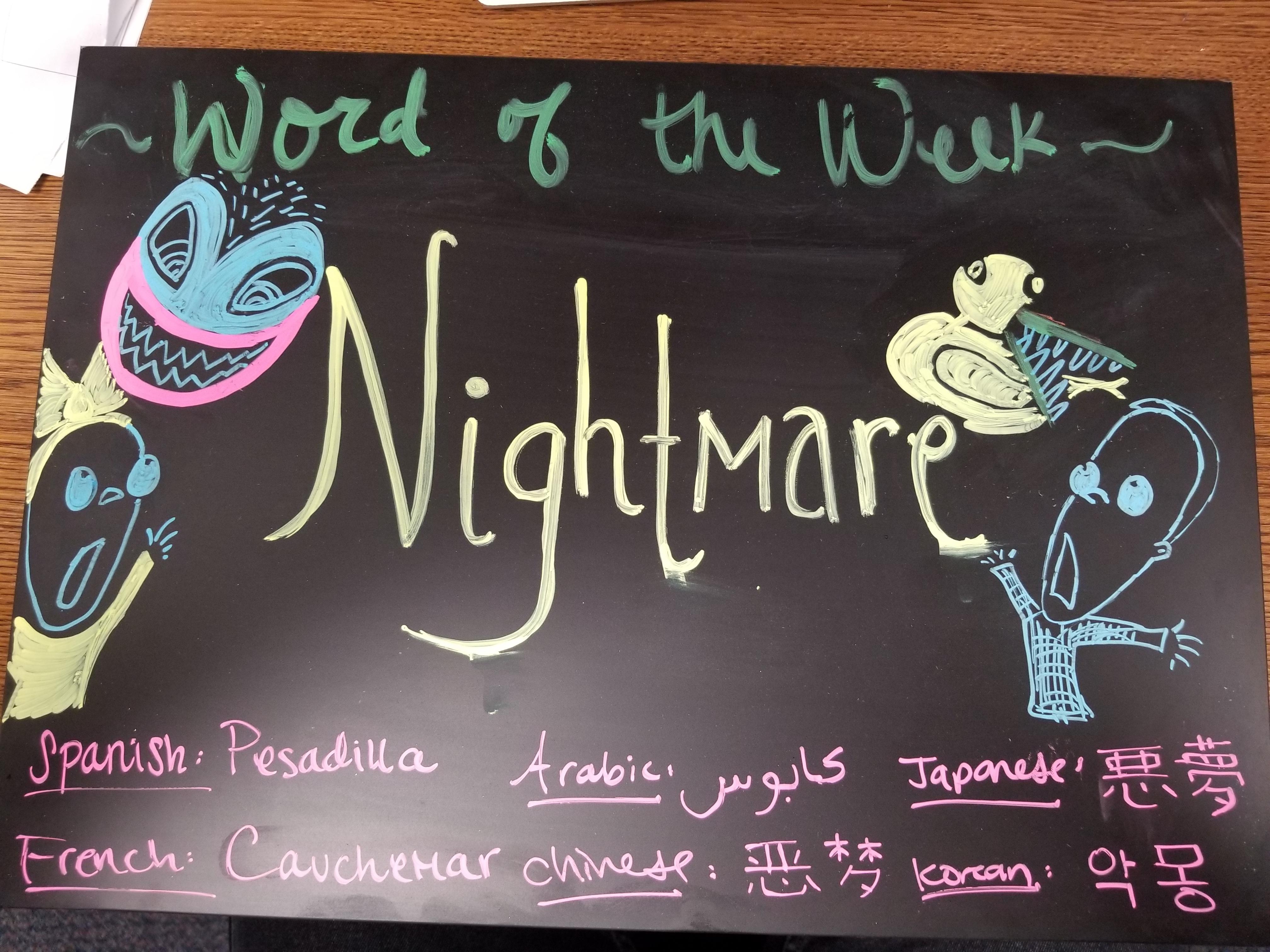 """Word of the Week """"Pumpkin"""""""