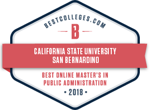 bestcolleges.com - CSUSB - best online maters in public administration