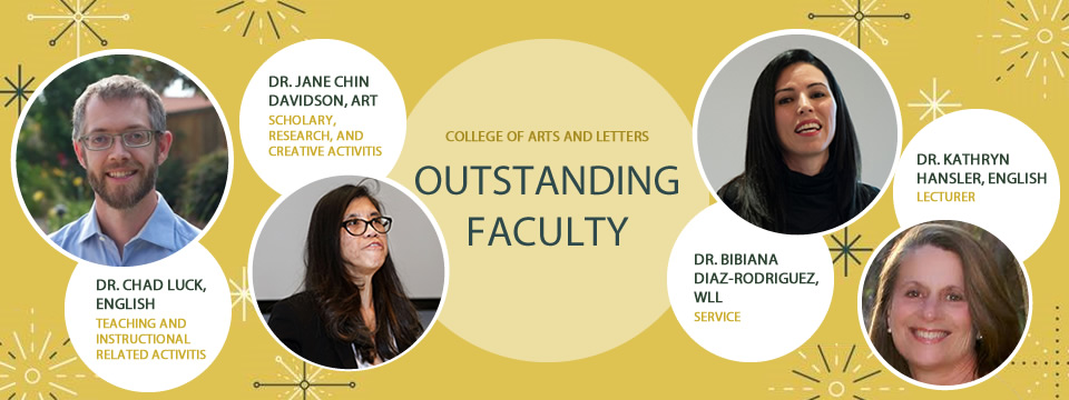 2019 CAL Outstanding Faculty