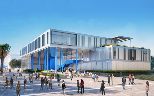 CSUSB's Center for Global Innovation building.