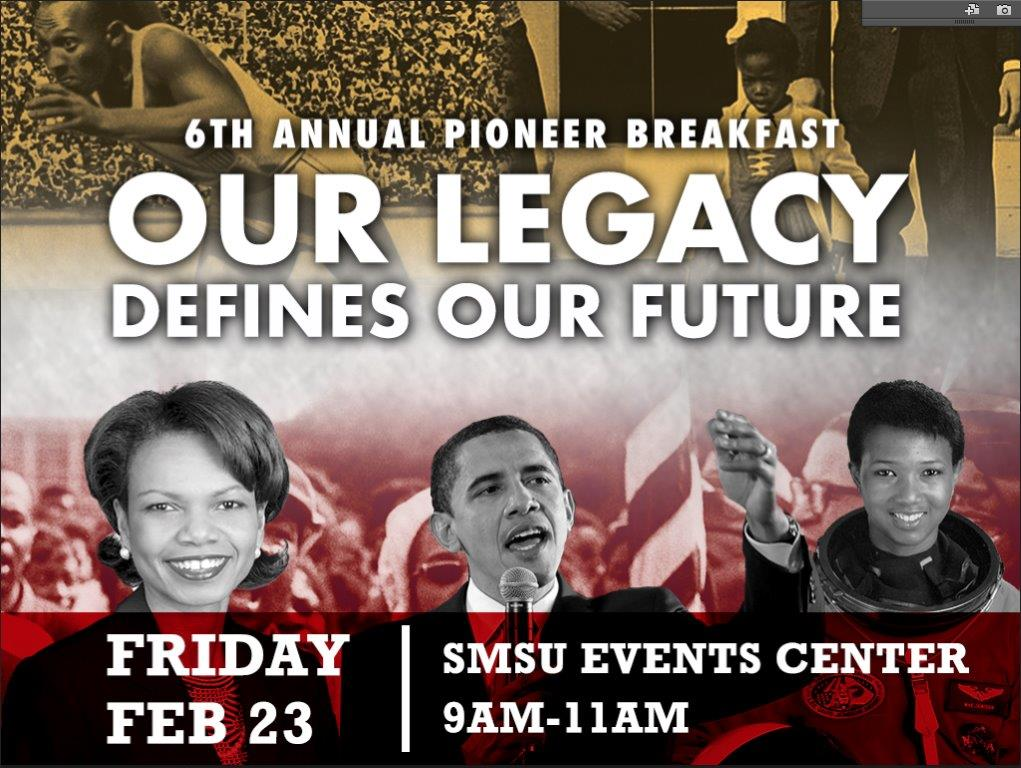 'Our Legacy Defines Our Future' focus of 6th Annual Pioneer Breakfast