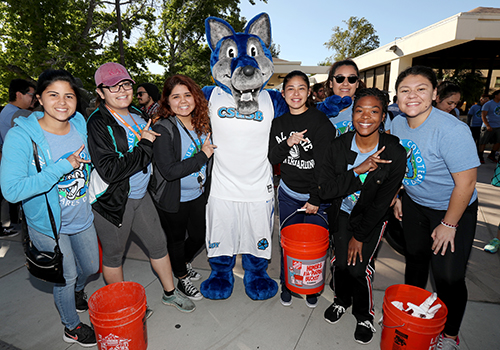 cody coyote and friends team up for coyote cares day