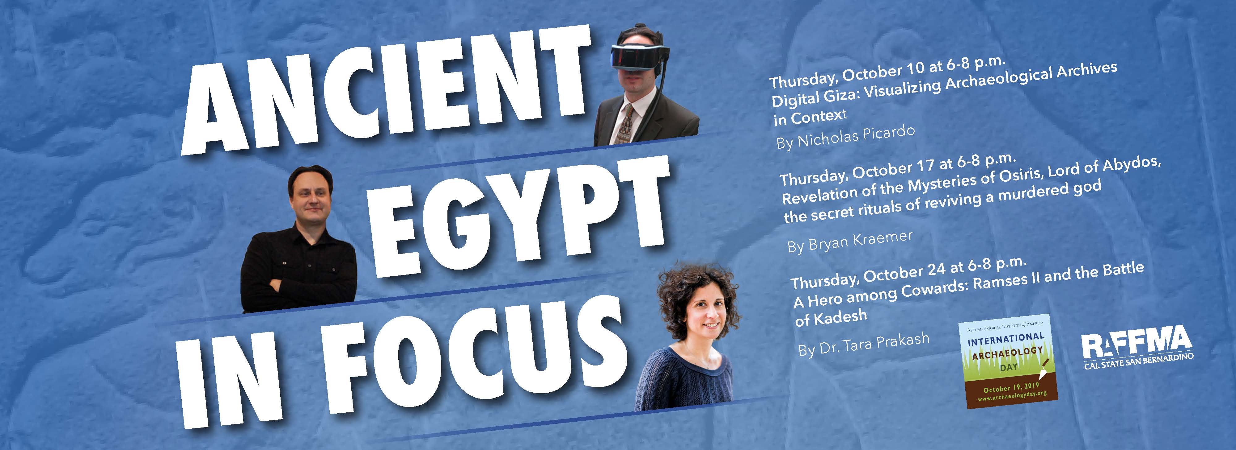 Ancient Egypt in Focus