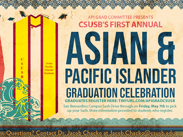 CSUSBs First Annual Asian & Pacific Islander Graduation Ceremony