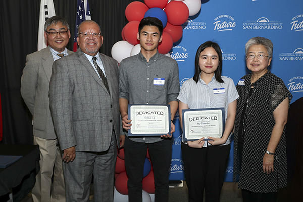 Dedicated Students award