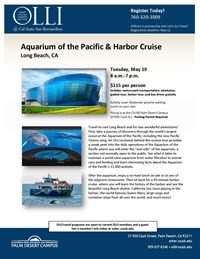 Aquarium of the Pacific flyer