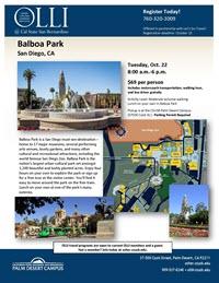 Balboa Park flyer