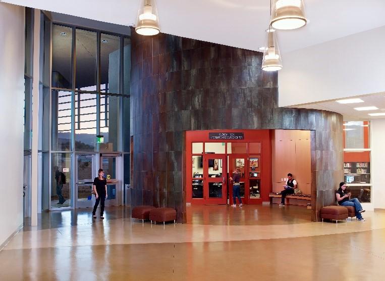 Coeta Barker Lobby, Health Sciences Building