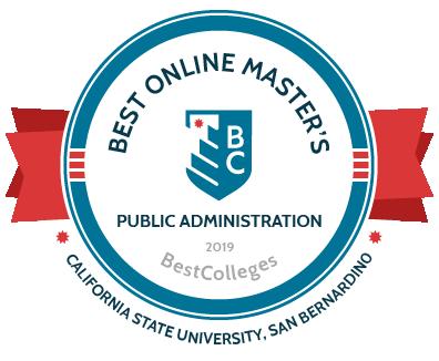 Best Online Masters Public Administration 2019 Best Colleges CSUSB