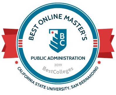 Best Colleges 2019 Best Online Masters Public Administration California State Univ San Bernardino
