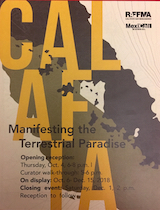 CALAFIA, curated by Ed Gomez et al, Sept 2018