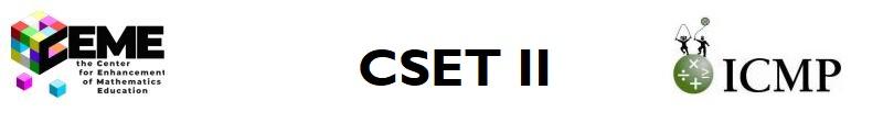 CEME CSET II ICMP