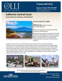 CA Central Coast flyer image