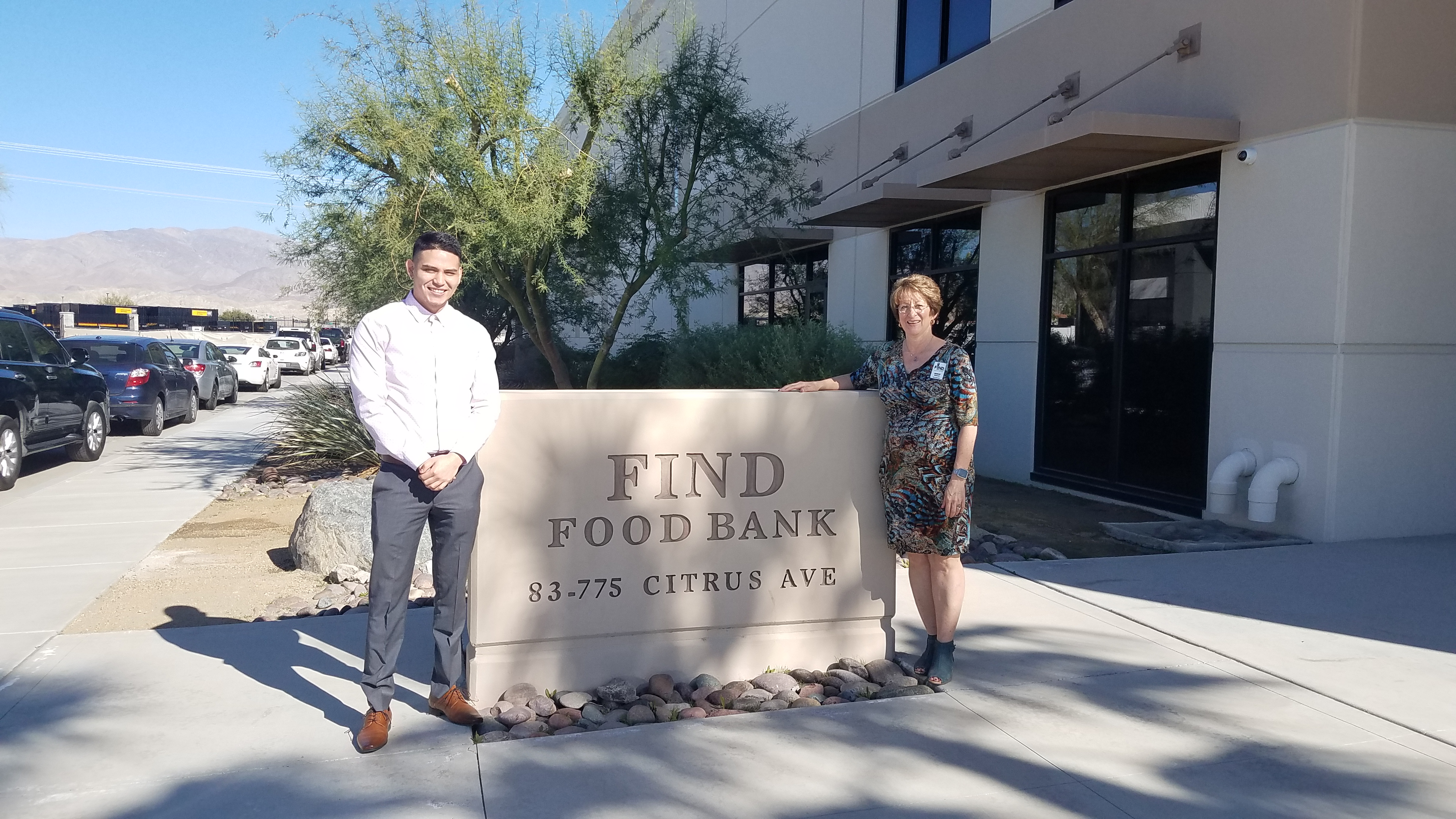 Career Center student gets job at FIND Food Bank photo