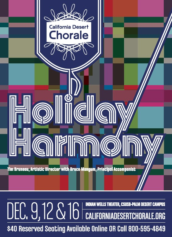 Desert Chorale 2018 holiday flyer