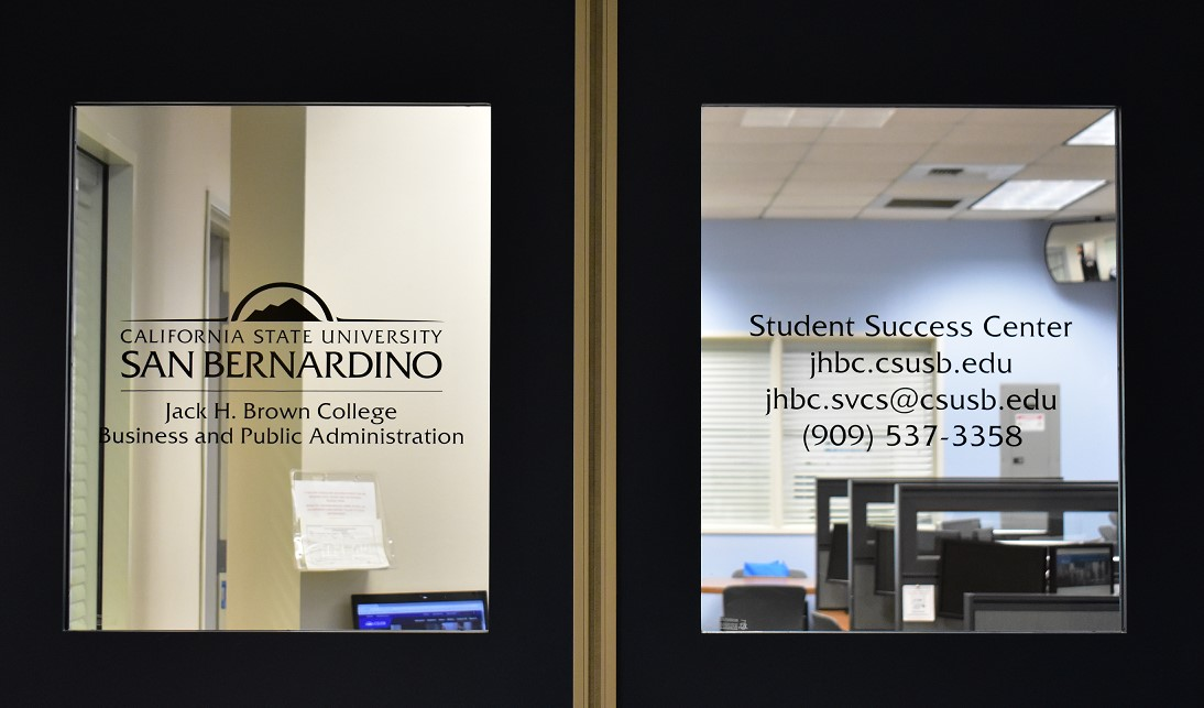 Student Success Center Doors