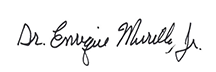 Signature of Enrique G. Murillo, Jr. Executive Director - LEAD Organization