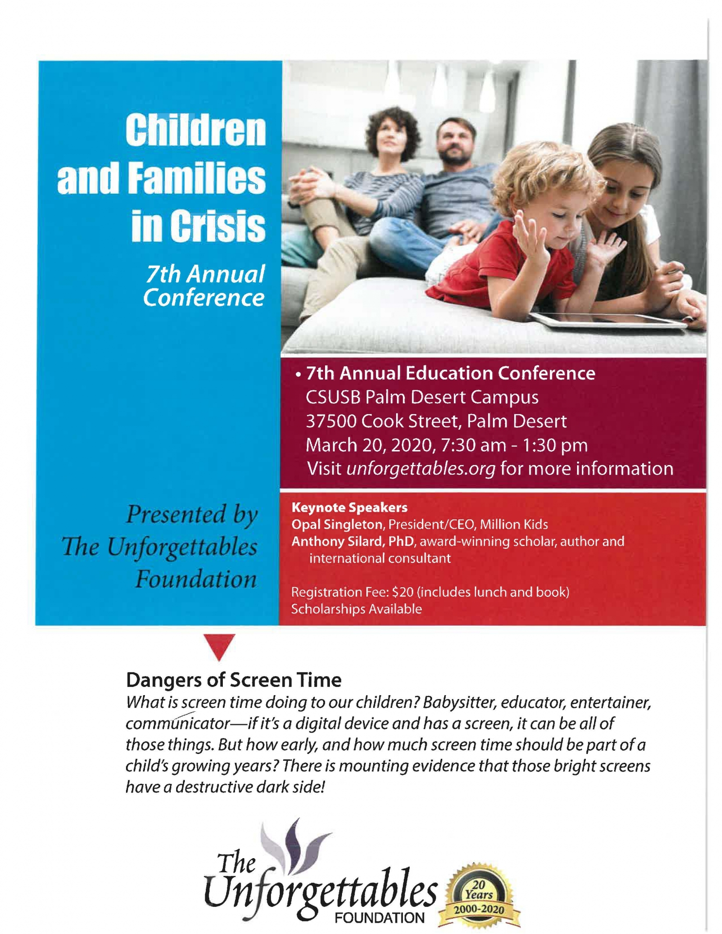 Families in Crisis event