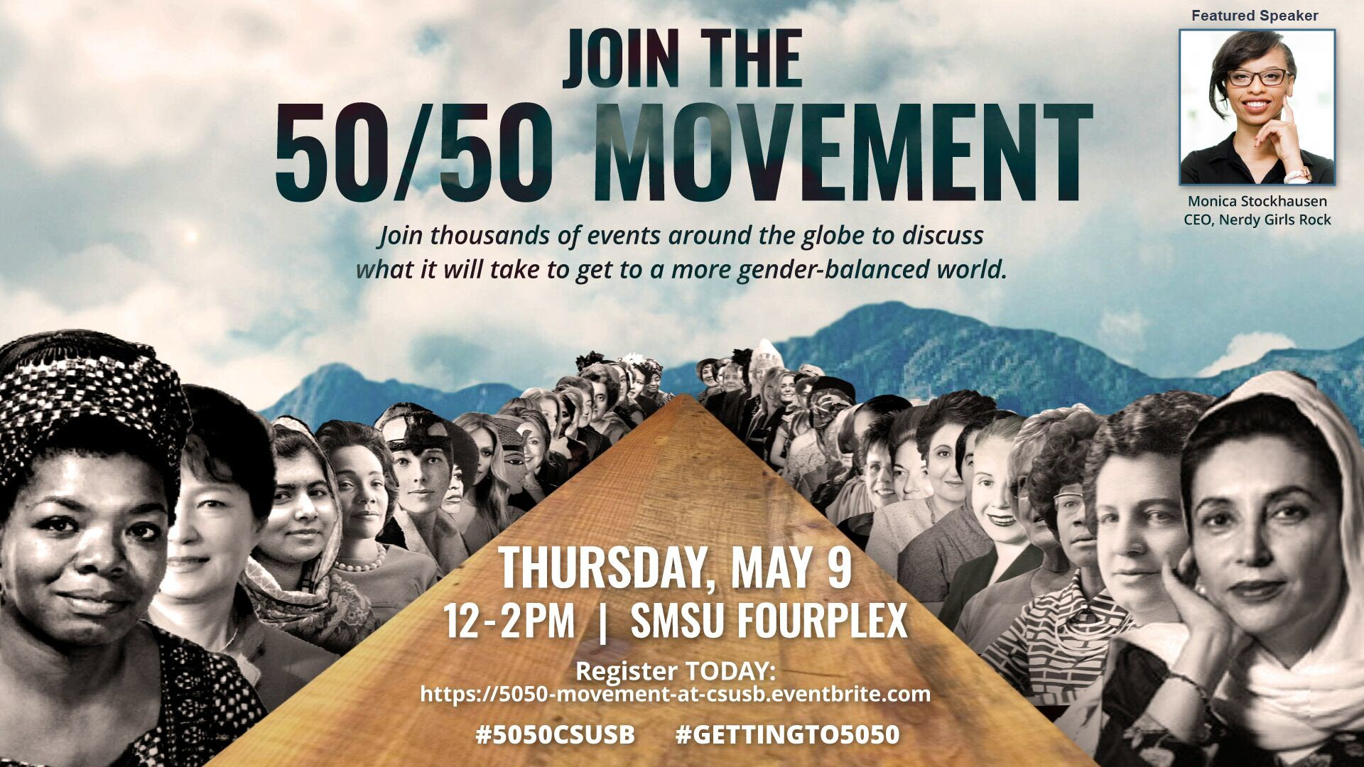 50/50 Movement coming to Cal State San Bernardino for second time