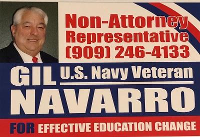 Gil Navarro - Non-Attorney Representative