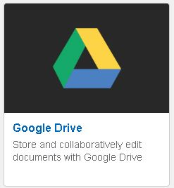 Google Drive Icon in MyCoyote Collaborate section