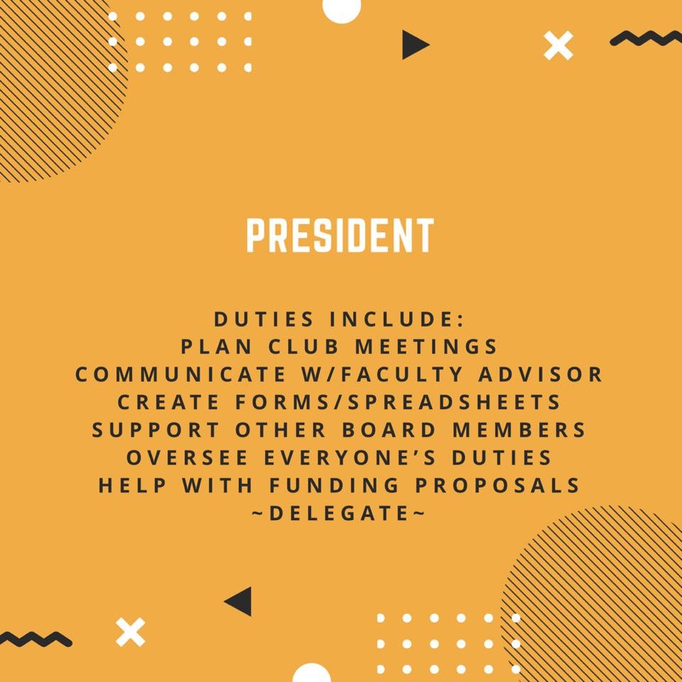 Executive board description