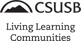 Living Learning Communities Logo Generic BW