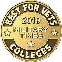 2018 Military Times Best for Vets Award