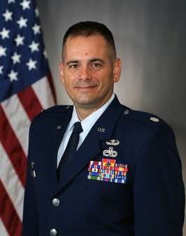 Lt Col Benjamin Smith - Commander