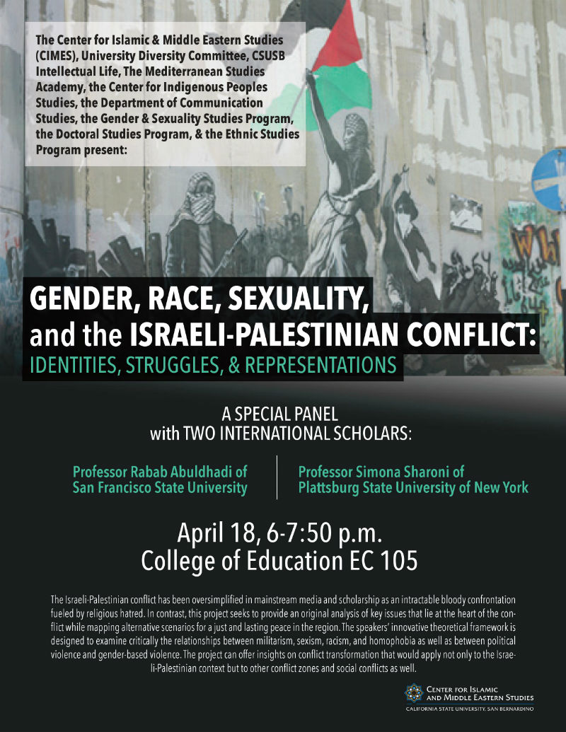 Gender, Race, & Sexuality Panel - Flyer