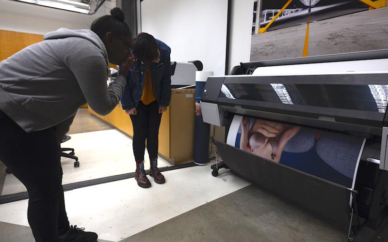 Digital colour photographic printing, 2019
