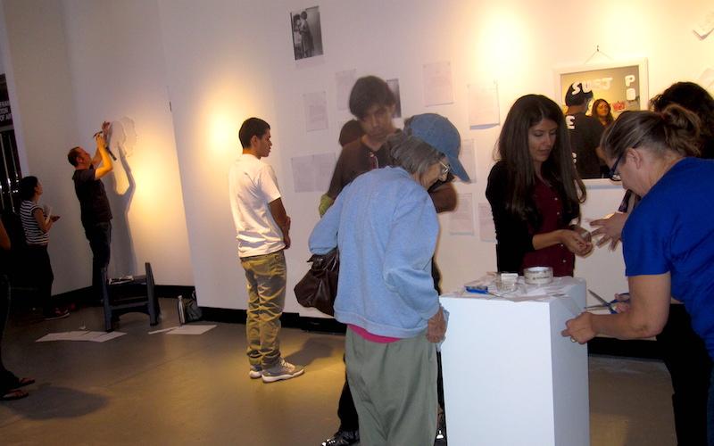Art History workshop at RAFFMA, CSUSB