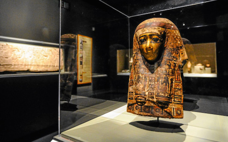 Harer Egyptian Collection exhibition at RAFFMA, CSUSB