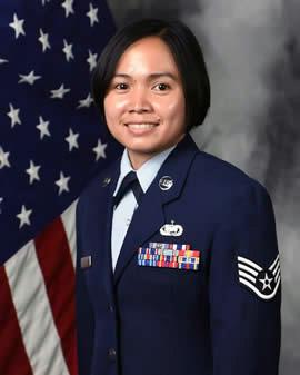Technical Sergeant Rochelle Aquino - NCOIC, Admin Management