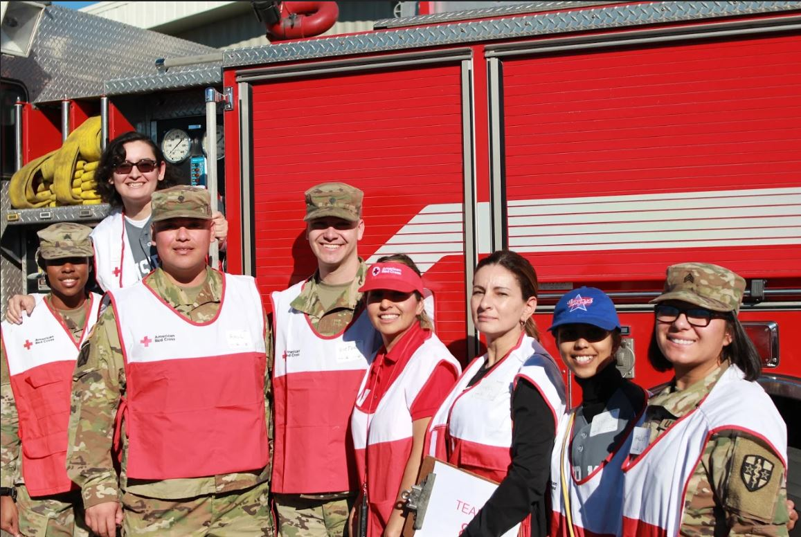 MBA Service Team with Red Cross
