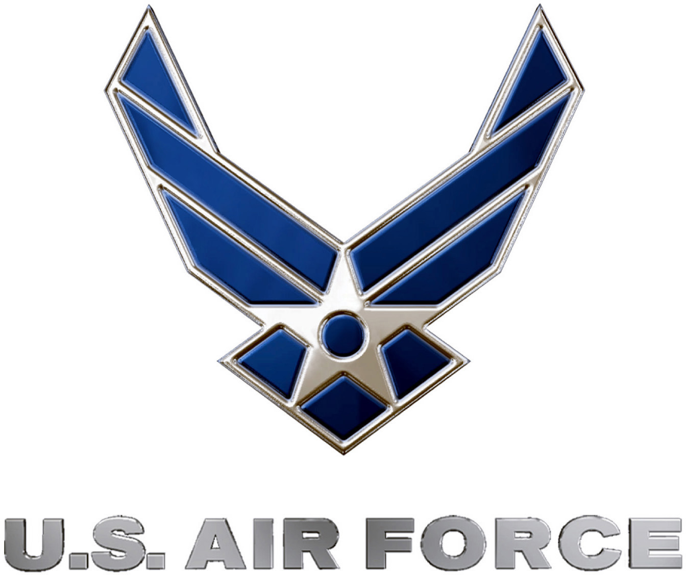 United_States_Air_Force_logo,_blue_and_silver
