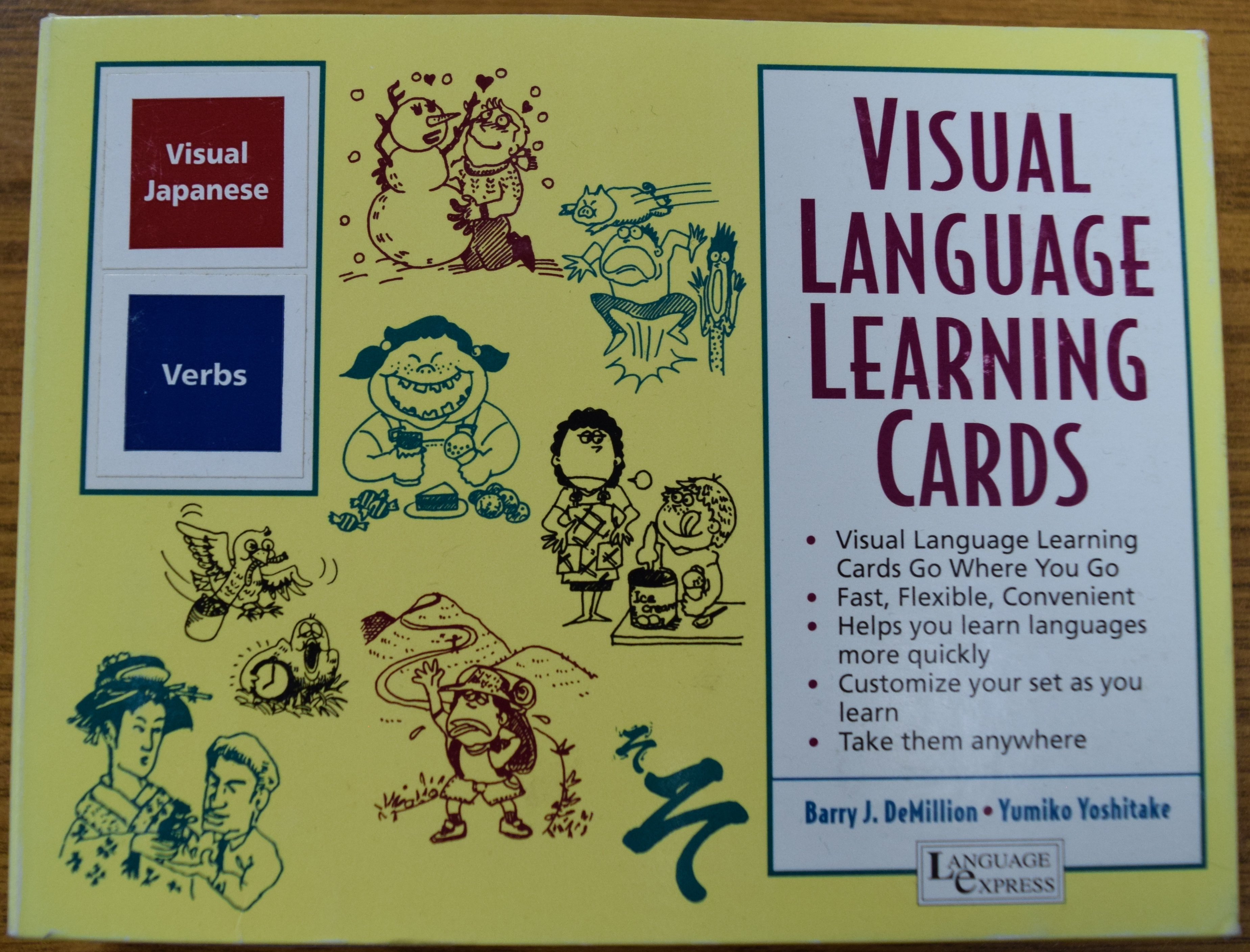 Visual Language Learning Cards