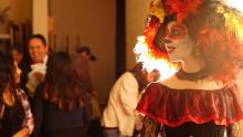 Leticia as a character in an Acto Latino play
