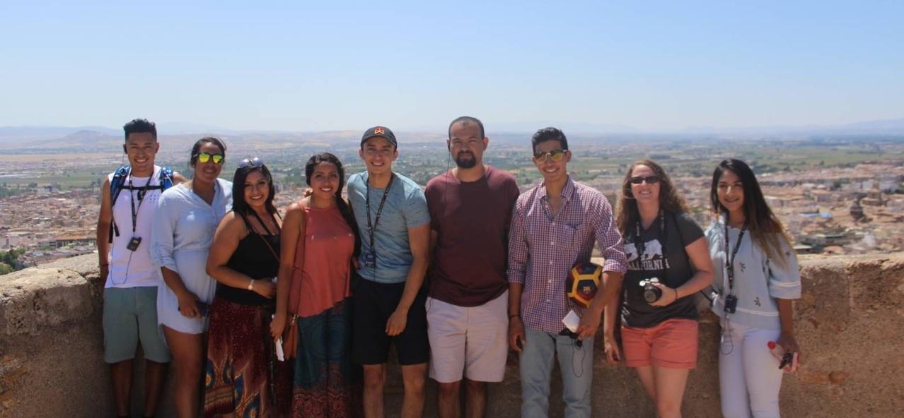 2017 Group in Granada, Spain