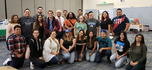 Group photo at Hispanic Heritage Month Celebration at CSUSB