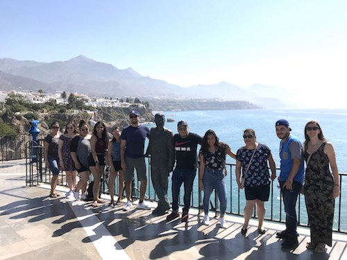 Group in Study Abroad Spain 2019
