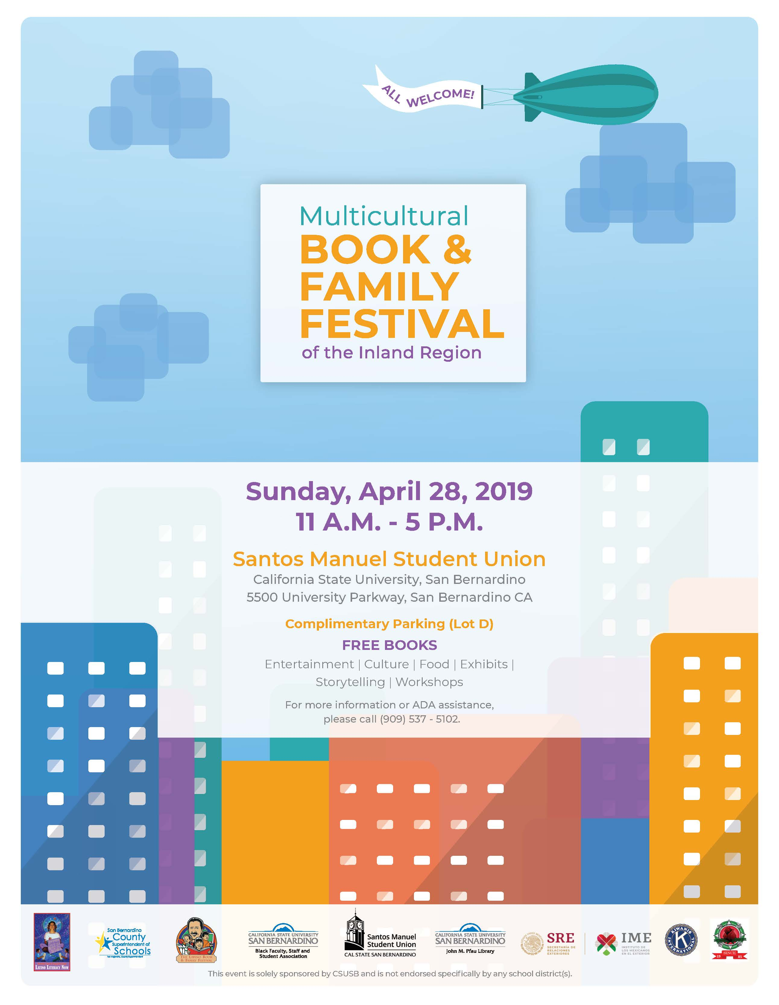 CSUSB's John M. Pfau Library to host Multicultural Book and Family Festival