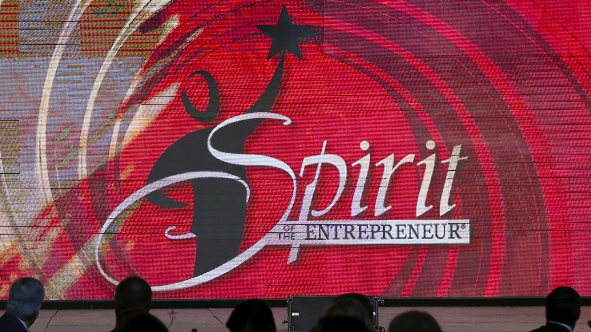 The Spirit of the Entrepreneur stage banner