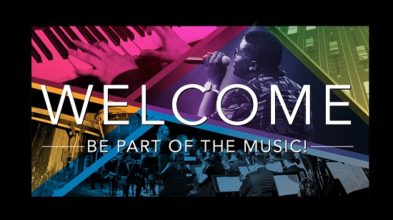 Welcome Be Part of the Music