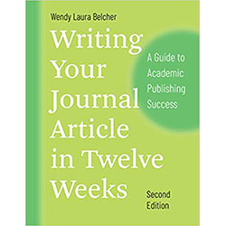 Writing Your Journal Article in Twelve Week