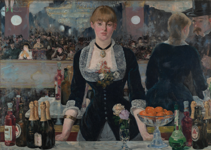 """A Bar at the Folies-Bergère"" Édouard Manet"